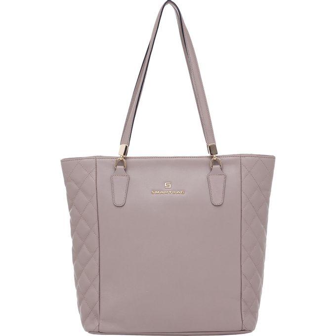 aca3af580 Bolsa Couro Smartbag Tiracolo Argila - 79042.16 - Smartbag