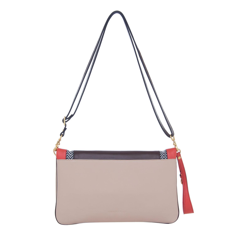 a1ce1dd4c Bolsa Versátil Nude/Coral/Ráfia PB Smartbag - 75011 - Smartbag
