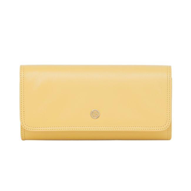 c4496e4537 Bolsa Clutch Amarela Smartbag - 75204 - Smartbag