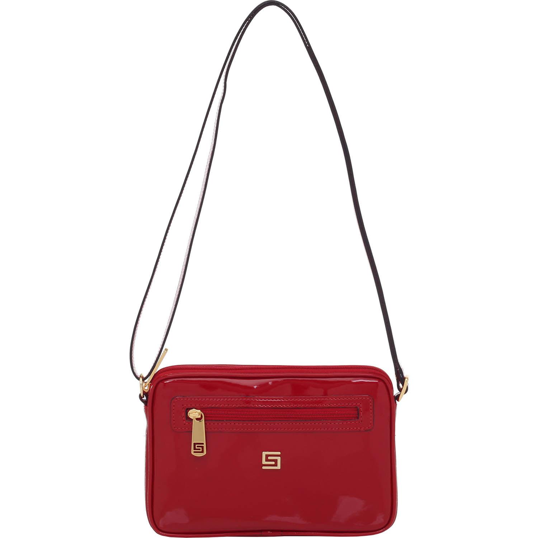 c27d90d32 Bolsa Transversal Verniz Lux Vermelho Smartbag - 77106 - Smartbag