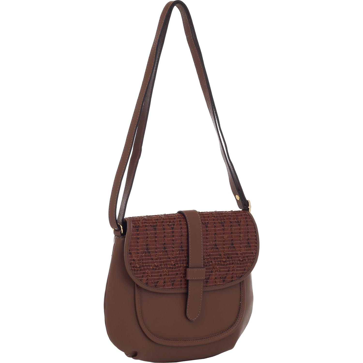 73c9be6d1 Bolsa Couro Transversal Smartbag Tribal Conhaque - 78010. Previous. Loading  zoom · Loading zoom · Loading zoom