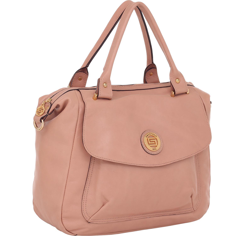 42a803db8c Bolsa Couro Smartbag Alça de Mão Rosa Antique - 74101. Previous. Loading  zoom · Loading zoom · Loading zoom