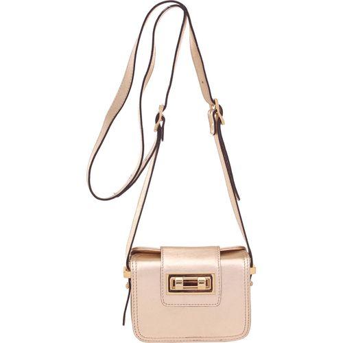 251d39ca19 Bolsa Pequena Transversal Smartbag Ouro Light - 73006