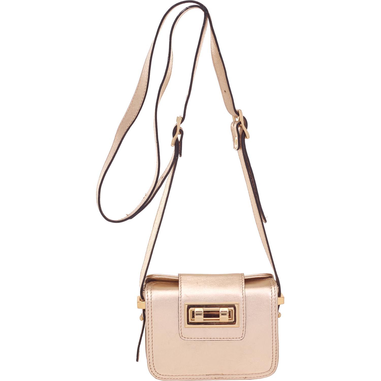 3adff28f4 Bolsa Pequena Transversal Smartbag Ouro Light - 73006 - Smartbag