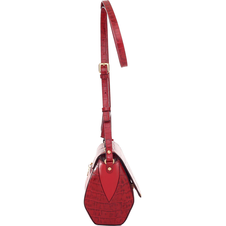 8f4a02314 Bolsa Couro Smartbag Alça de Mão Croco Vermelho - 79023.16. Previous.  Loading zoom · Loading zoom · Loading zoom · Loading zoom