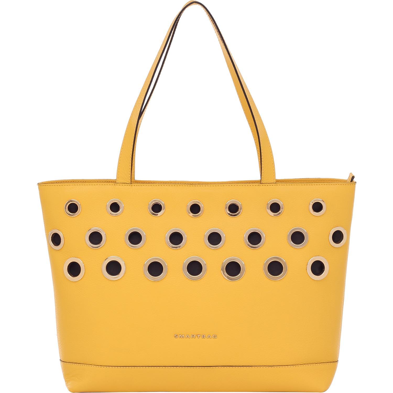 e16dfc4e3 Bolsa Couro Smartbag Tiracolo Amarelo - 79043.16. Previous. Loading zoom ·  Loading zoom