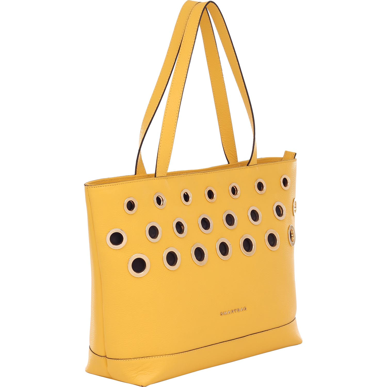 123be9e7b Bolsa Couro Smartbag Tiracolo Amarelo - 79043.16. Previous. Loading zoom ·  Loading zoom · Loading zoom