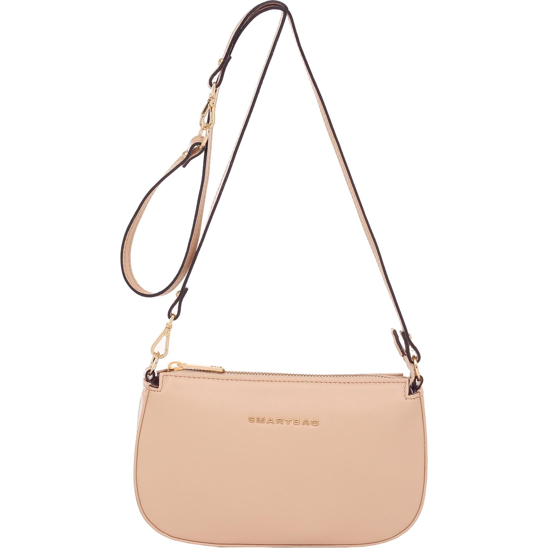 17bd3dd3e4 Bolsa Couro Smartbag Transversal Natural - 78011. Previous. Loading zoom ·  Loading zoom