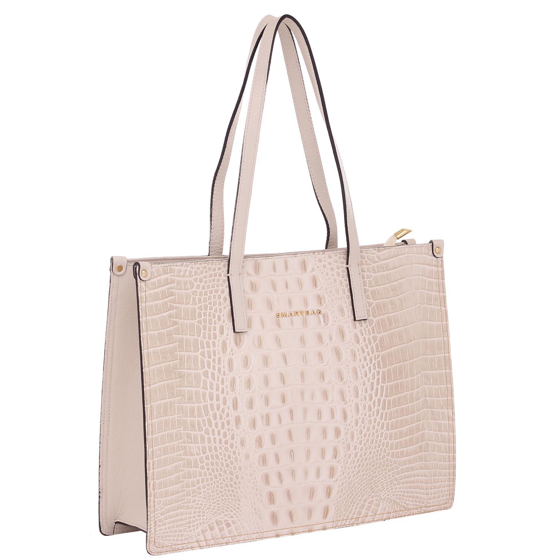 5bf8c9479 Bolsa de Couro Croco Ice - Smartbag