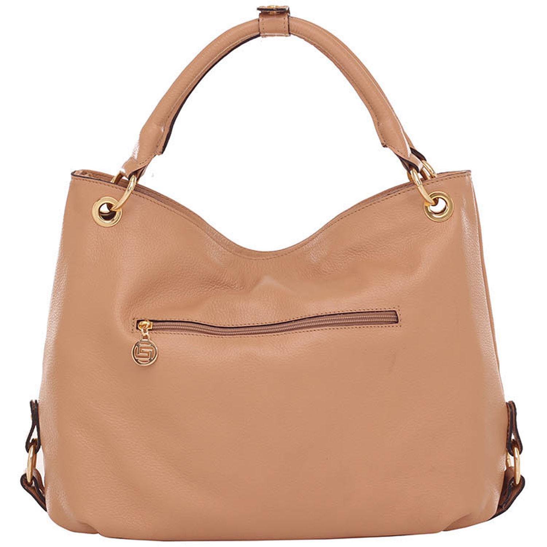 Bolsa Alça de Mão Smartbag Couro Amendoa - 70036.16. Previous. Loading zoom 70b50711032