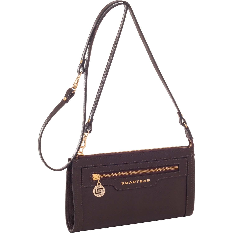 141d0babf Bolsinha Smartbag Couro Chocolate - 71016.17. Previous. Loading zoom ·  Loading zoom · Loading zoom