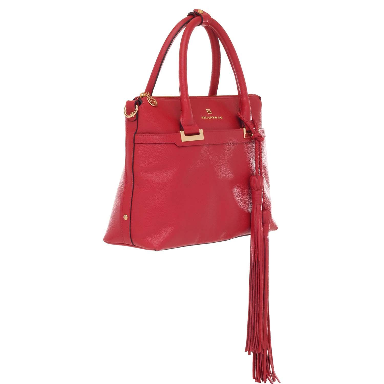 dd6dda385 Bolsa Couro Smartbag Tiracolo Vermelho - 71045.17. Previous. Loading zoom ·  Loading zoom · Loading zoom