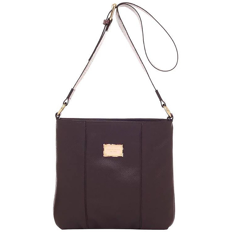 7e18c3460 Bolsa de Couro Python Bicolor Café Deserto - Smartbag