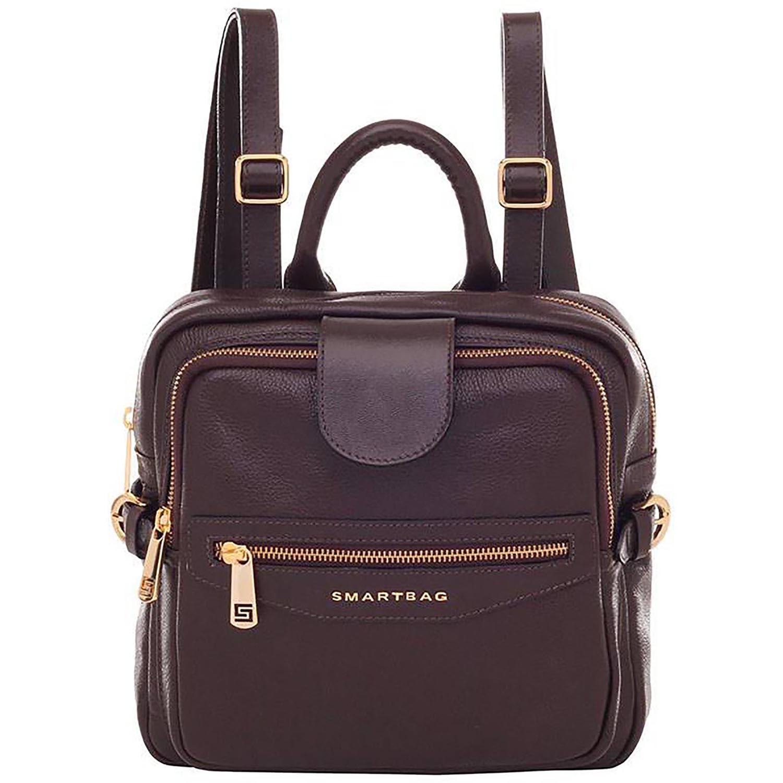 7b0f5d453 Mochila Smartbag Couro Chocolate - 71063.17. Previous. Loading zoom ·  Loading zoom