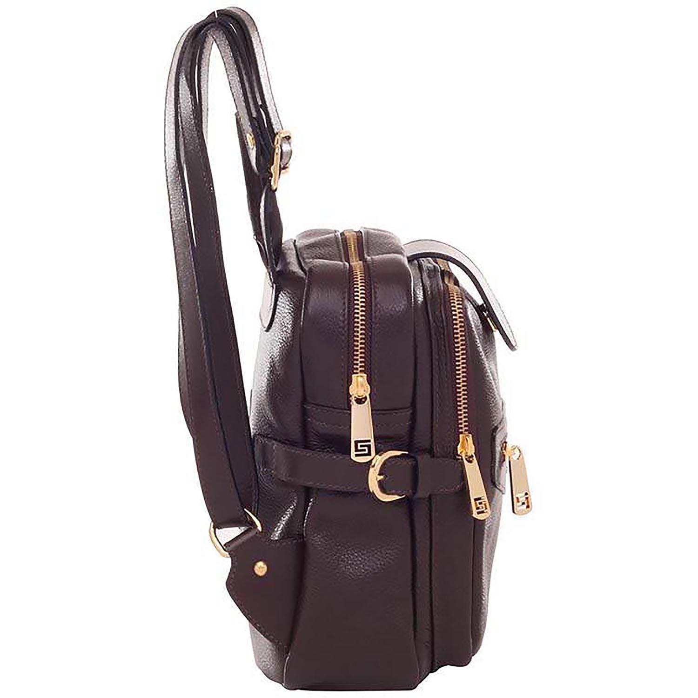 e742c06b7 Mochila Couro Chocolate - Smartbag