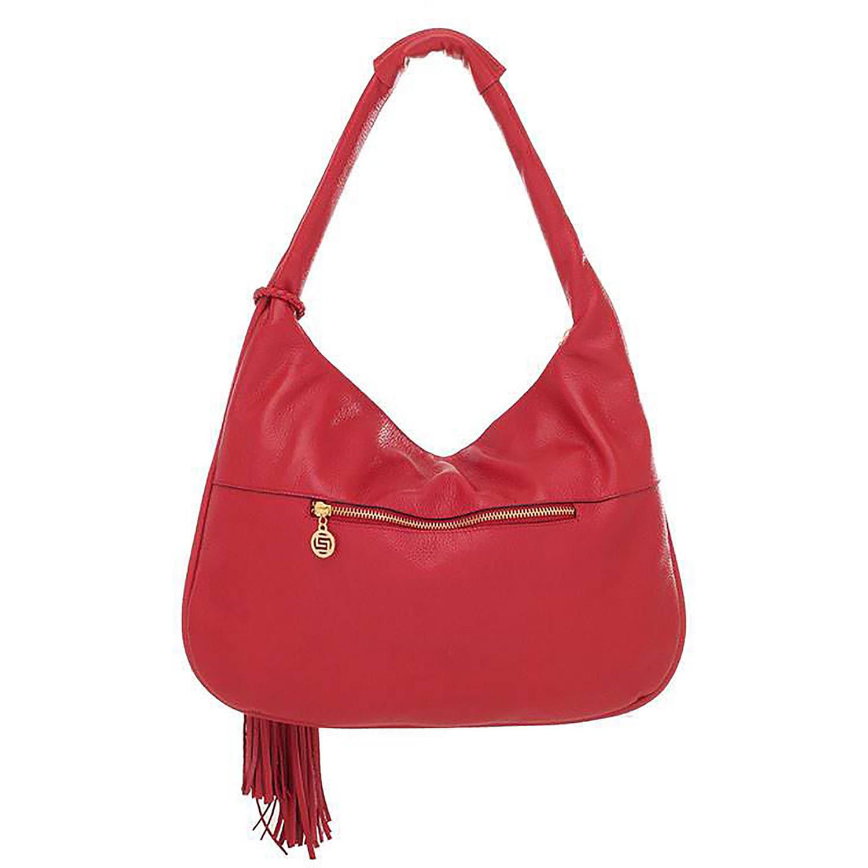 e949cddd5 ... Bolsa Smartbag Couro Trançado Tiracolo Vermelho- 71107.17. Previous.  Loading zoom