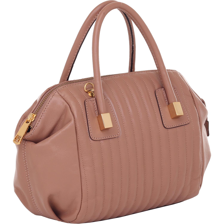 1b7ab0571 Bolsa de Couro Pequena Alça De Mão Rosa Antique - Smartbag