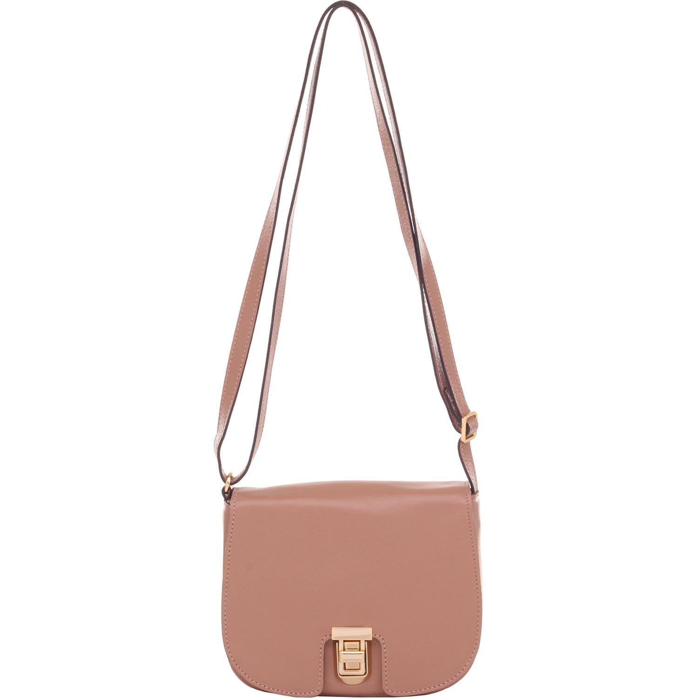 5b7f670a7 Bolsa de Couro Pequena Rosa Antique - Smartbag