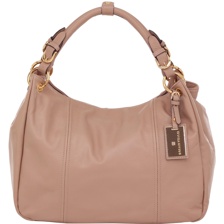 b7c63405f Bolsa Smartbag Couro Tiracolo Nude - 70084.16. Previous. Loading zoom · Loading  zoom
