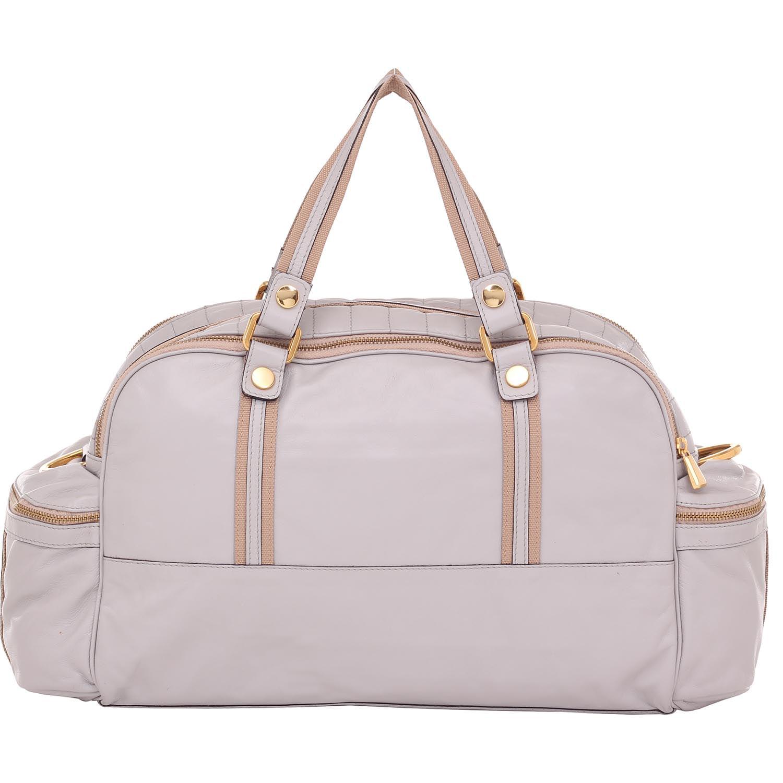f4ee51f5f Bolsa Smartbag Couro Alça de Mão Cinza Grande - 79100. Previous. Loading  zoom