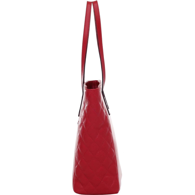 431a977c4 Bolsa de Couro Tiracolo Vermelho - Smartbag