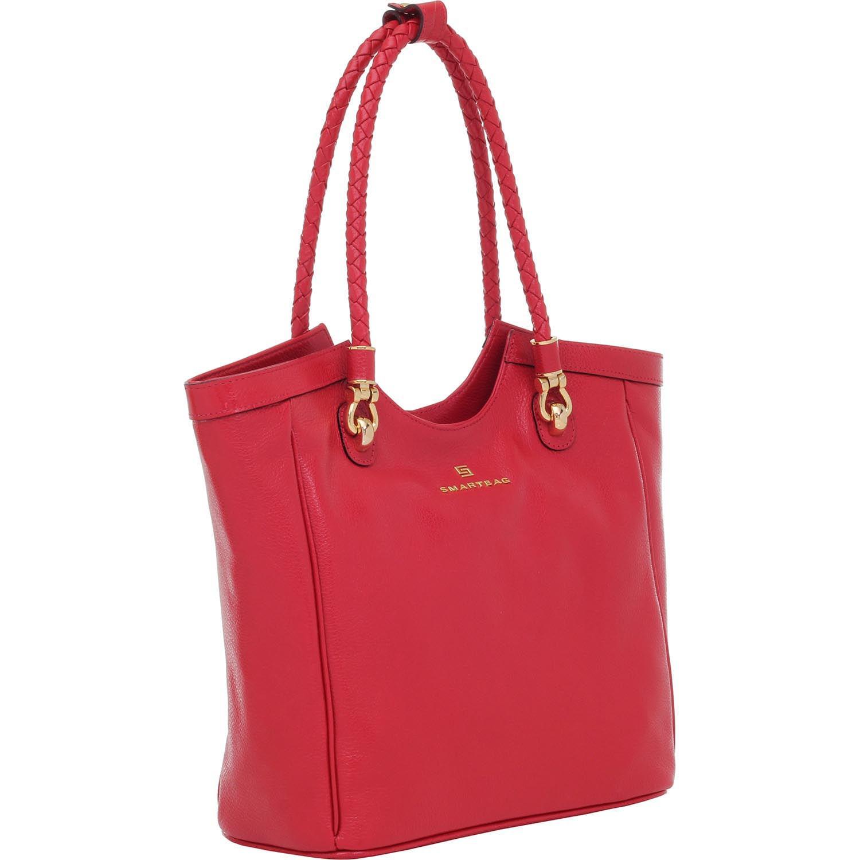 bc4d45f1e Bolsa Couro Smartbag Vermelho - 70085.16. Previous. Loading zoom · Loading  zoom · Loading zoom