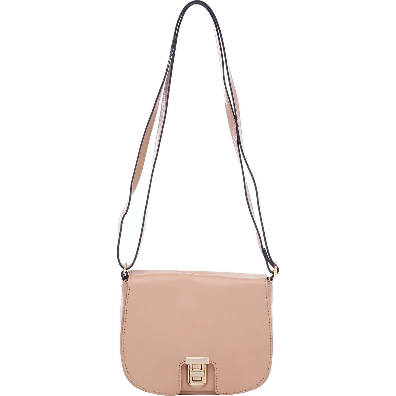 bce75c512 Bolsa de Couro Pequena Bege - Smartbag