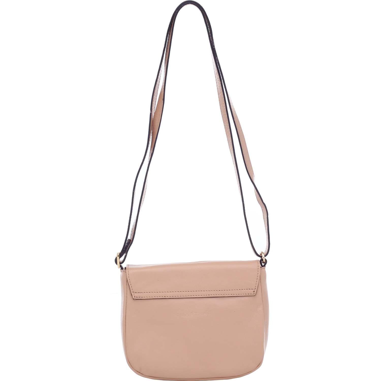 3725cecabcf91 Bolsa Couro Pequena Bege Smartbag - 76026. Previous. Loading zoom