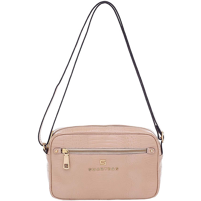 c28f099a8 Bolsa Smartbag Couro Transversal Lagarto Areia - 73194.18 - Smartbag