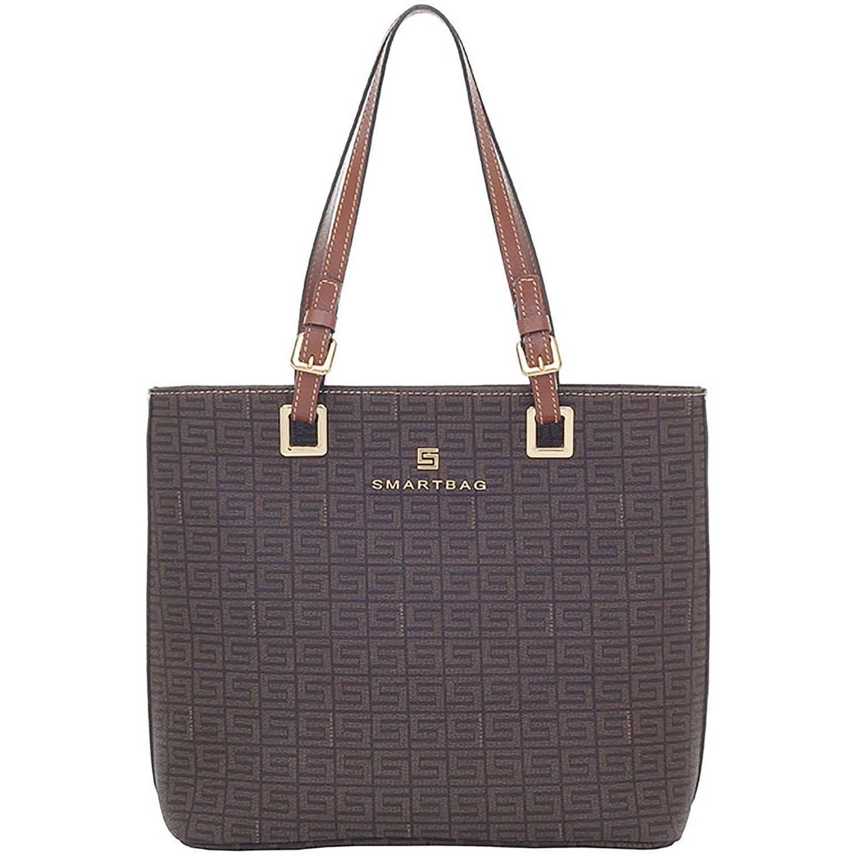 f671492eb Bolsa Smartbag Tiracolo Veneza Chocolate/Couro Avelã - 86074.18. Previous.  Loading zoom · Loading zoom