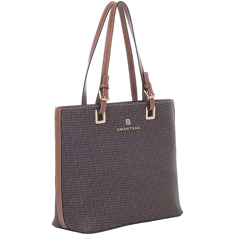 c97a4b5e18 Bolsa de couro feminina tiracolo Veneza Chocolate - Smartbag