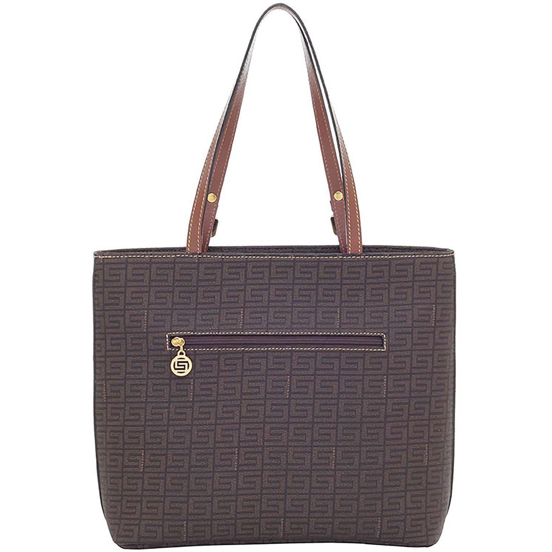 046bb7c14 Bolsa de couro feminina tiracolo Veneza Chocolate - Smartbag