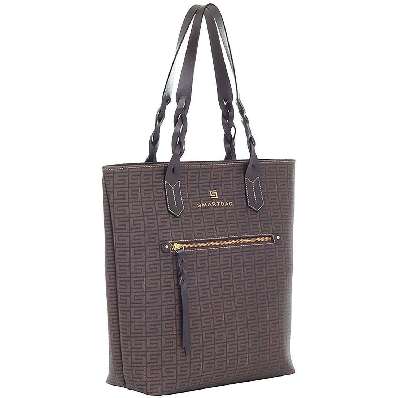 6786800110ba8 Bolsa Tiracolo Veneza Chocolate Couro Café - Smartbag