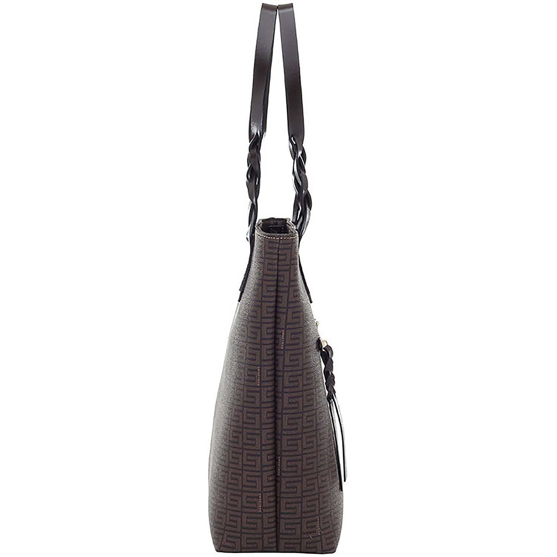 be02d71b5 Bolsa Tiracolo Veneza Chocolate Couro Café - Smartbag