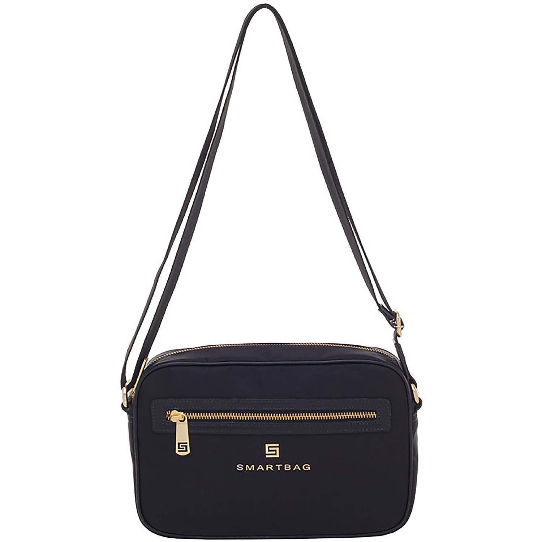 8bd5f521a Bolsa Smartbag Transversal Nylon/Couro Preto - 88036.18. Previous. Loading  zoom · Loading zoom