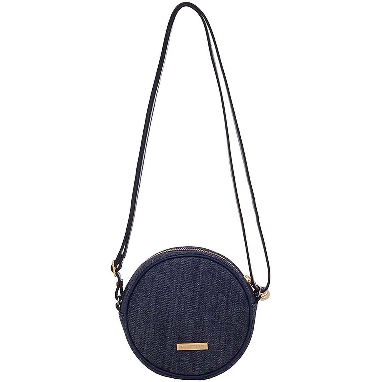 1fb42a6aa0 Bolsinha Cantil Flower Jeans Navy - Smartbag