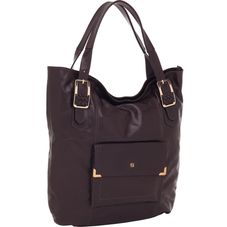 d060cf26e Bolsa Smartbag Tiracolo Couro Chocolate - 72086. Previous. Loading zoom ·  Loading zoom · Loading zoom