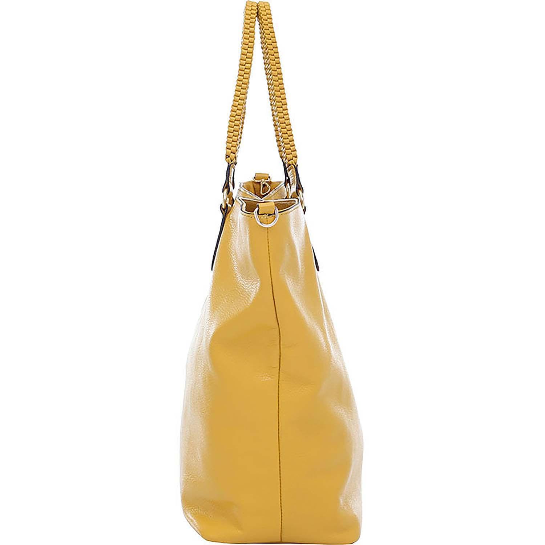 603ebfced Bolsa/Sacola Couro Tiracolo Amarelo - 73090.18 - Smartbag