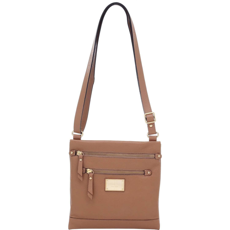 Bolsa de Couro Transversal Amêndoa - Smartbag fc47f49110d