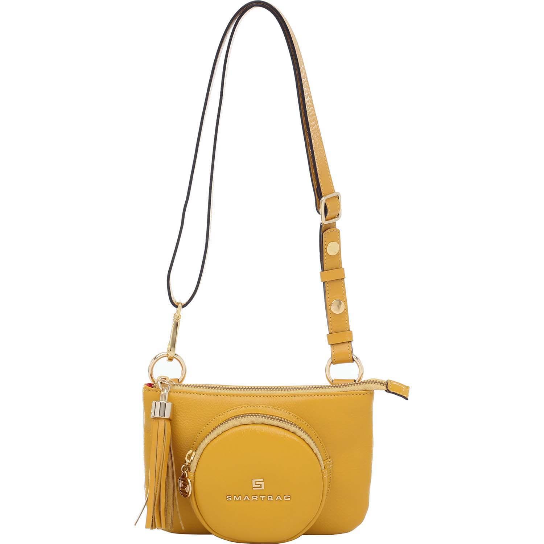 7dffdf6090 Bolsa Pochete Couro Amarelo - 73199.18 - Smartbag