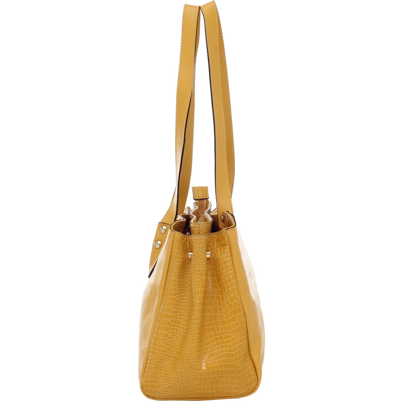 7c1a6f25c BOLSA TIRACOLO COURO CROCO AMARELO - Smartbag