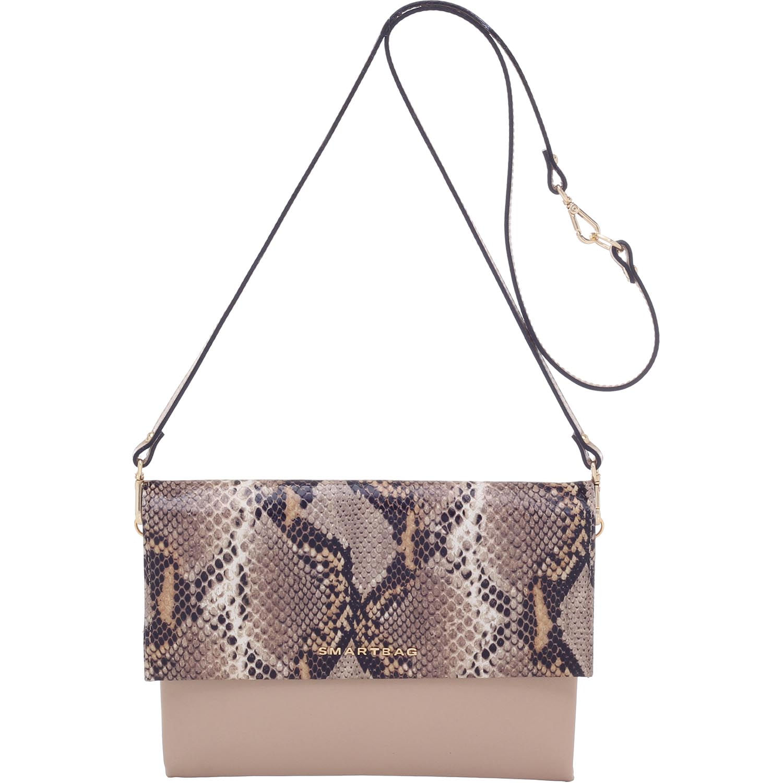 b71109415 BOLSA TRANSVERSAL COURO PHYTON AREIA - Smartbag