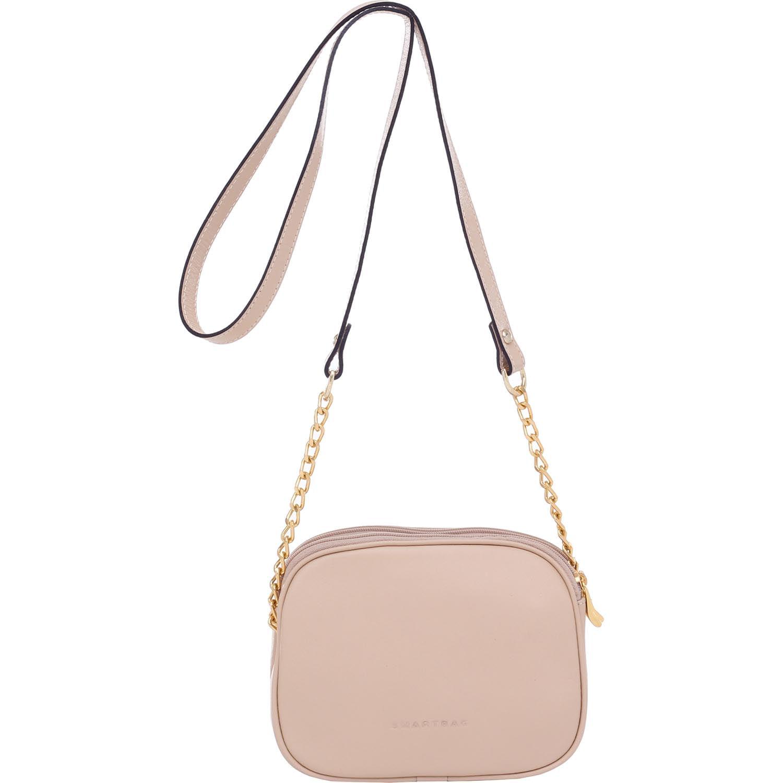 c8443ac9f7 Bolsa Transversal Smartbag Couro Natural - 78008.15. Previous. Loading zoom