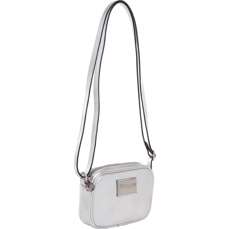 89d7f9341 BOLSA TRANSVERSAL METALIZADA PRATA - Smartbag