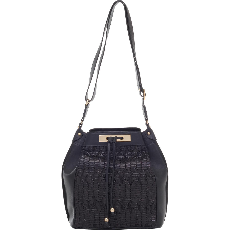 f87ce0474 BOLSA SACO TRANSVERSAL TRESSE TRIBAL PRETO - Smartbag