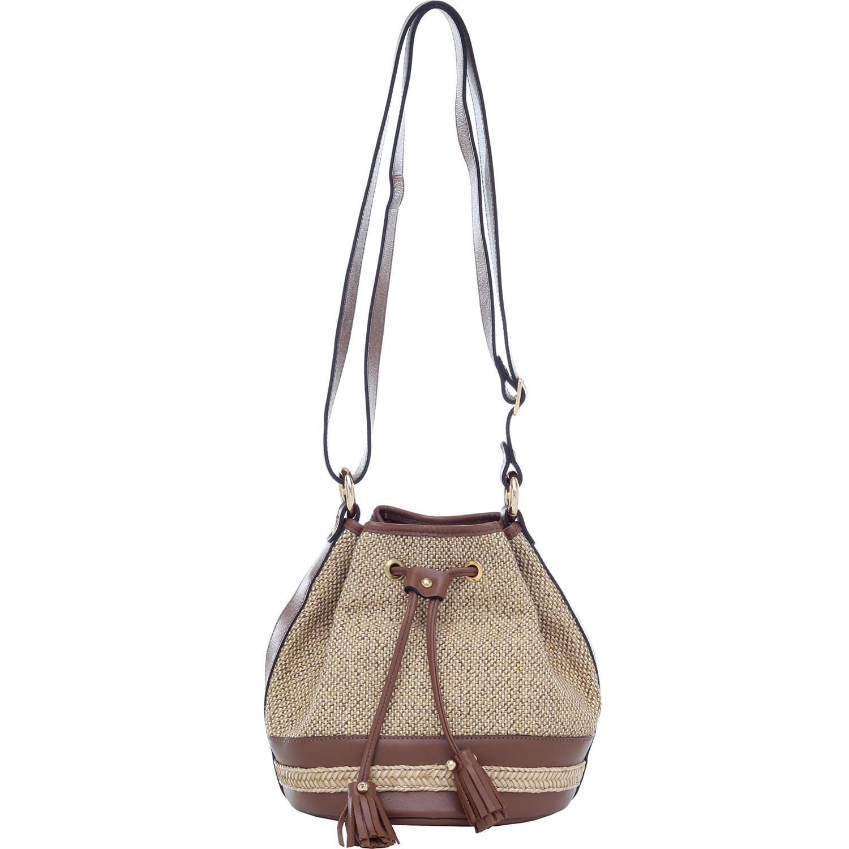 b442ffccb BOLSA SACO TRANSVERSAL PALHA NATURAL WHISKY - Smartbag