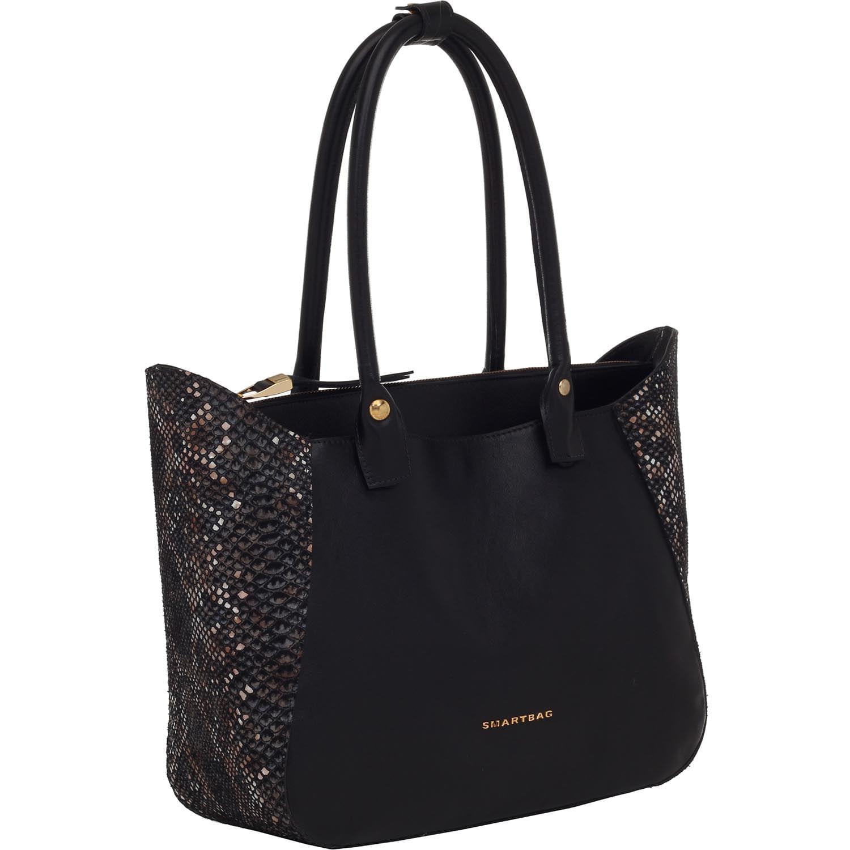 330d93d8d Bolsa Tiracolo Snake Black - Smartbag
