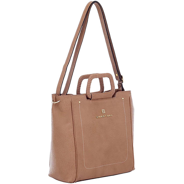 5a9874c89 Bolsa Transversal Couro Amendoa - 73225.18 - Smartbag