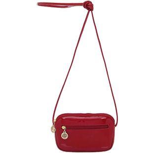 Bolsa Smartbag Transversal Verniz Vermelho 74003.18 1