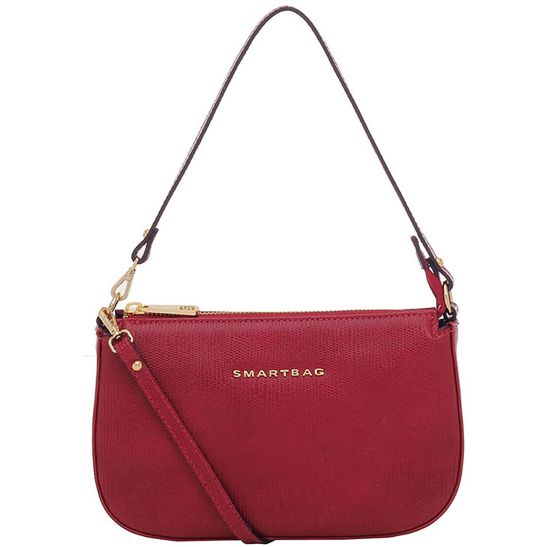 701ec47193 Bolsa Tiracolo Couro Vermelho - Smartbag